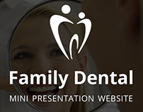 Website Template - Family Dental