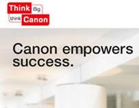 Canon Printers ThinkBig Campaign Ads