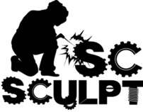 Scrap Sculptures Logo and Banner Design