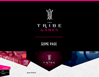 "Website for ""The Tribe Games"" studio"
