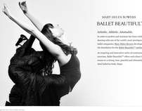 Balletbeautiful.com site design