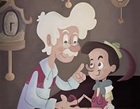Pinocchio fan art