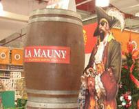 La Mauny Rum POP Island Display
