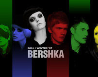 bershka winter'07 website