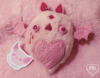 Pink Bat Plush