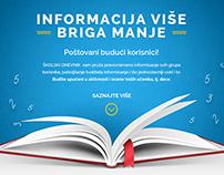 Skolski Dnevnik Web Design