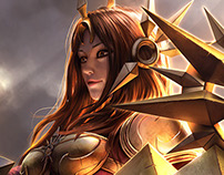 [Fanart] Leona - League of Legends