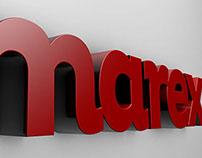 Redesign de marca e papelaria Marex