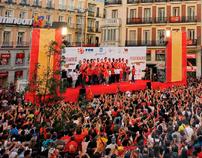 Eurobasket 2011 Celebration