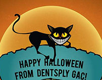 Halloween Illustration | © Dentsply GAC