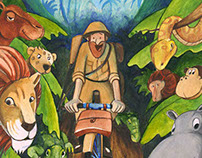 illustration - children books - AFRYKA KAZIKA