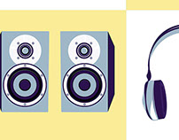 DeciBel Audio Icons
