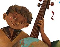 Illustrazione per la Locandina di Orchestra Scarlatti