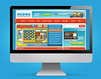 Wordpress Template - Kidos