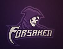 Forsaken Mascot Logo