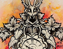 Wolpertinger Clock Series