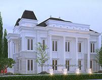 Rumah Vernakular Klasik Simple di Graha Family Surabaya