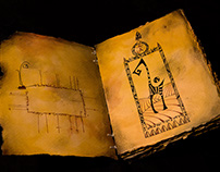 The Book of Shadows -The original art works