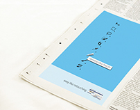 Minimal Print Ads