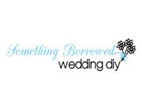 Something Borrowed Wedding DIY Branding