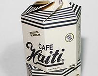 Coffee packaging for Café Haiti