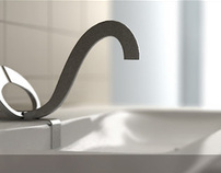 "Collection of faucets for baths of ""Zeus"""