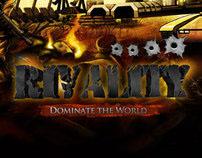 Rivality Homepage UI design