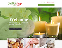 Website Design for Canuck Soap