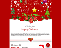 Christmas Responsive e-Commerce Email Newsletter