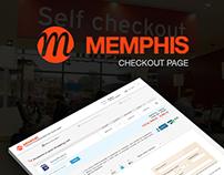 Checkout Page - Memphis
