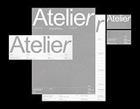 Visual identity—Atelier