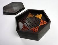 Portable Chinese Checkers