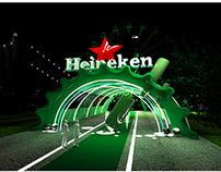 Space 3D - Heineken Event