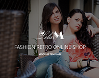 Site - Retro Design - LolaM