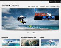 Surf FX website