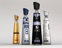 Evian Star Wars Bottles
