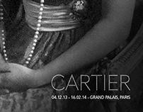 Facebook headers for Grand Palais (Cartier exhibition)