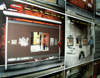 Bansky website redesign