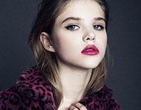 Model test with Sasha (Nagorny model's agency)