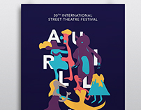 Aurillac festival - Street theatre festival.