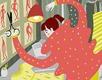 Illustration for «POINTER» magazine december'14