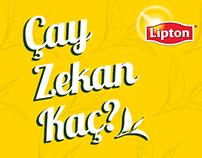 Lipton/Çay Zekan Kaç?/FB app