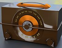 1950's Zenith AM Radio