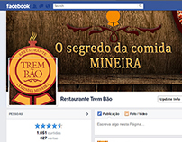 Facebook - Restaurante Trem Bão