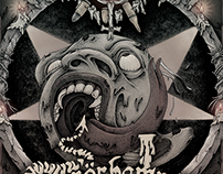 Terrorhammer / Under The Unholy Command (Album cover)