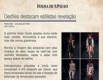 Victordzenk Clipping - Folha de São Paulo