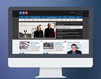 BNS - Balkan News Service website