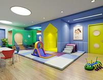 Nanjing 61 Space Preschool and Kindergarten Design
