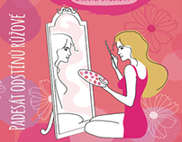 """""""Fifty shades of pink"""" Book Ilustrations"""