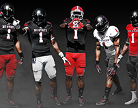 Football Uniform Combination Showcase